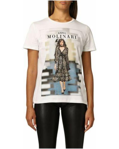 Biała t-shirt Anna Molinari