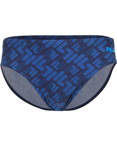 Синие шорты спортивные Fila