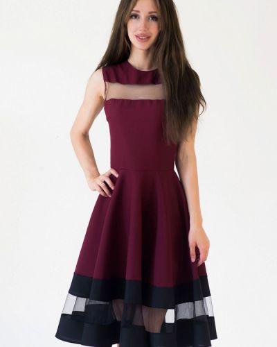Платье весеннее красный Подіум