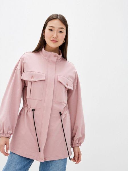 Куртка весенняя розовая Tantino