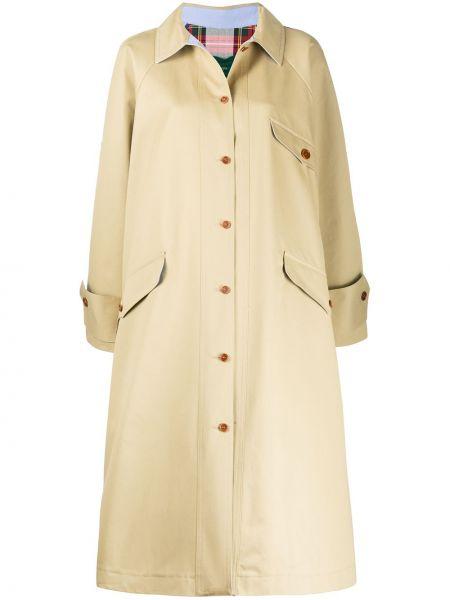 Классическое пальто классическое с воротником из вискозы на пуговицах Jejia