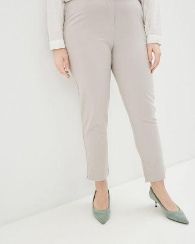 Бежевые зауженные брюки Svesta