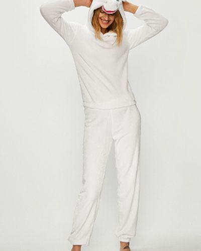 Пижама однотонная с капюшоном Answear
