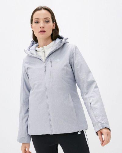 Серая куртка горнолыжная 4f