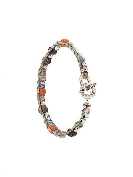 Синий браслет с бисером Gas Bijoux