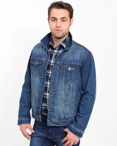 Джинсовая куртка хлопковая с манжетами F5