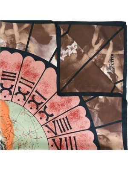 Платок шелковый Jean Paul Gaultier Pre-owned