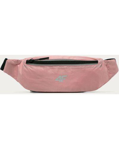 Różowa torebka średnia 4f