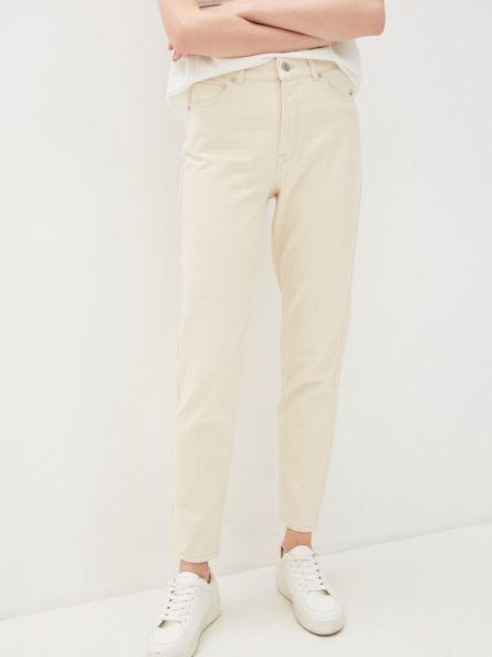 Прямые джинсы бежевые Selected Femme
