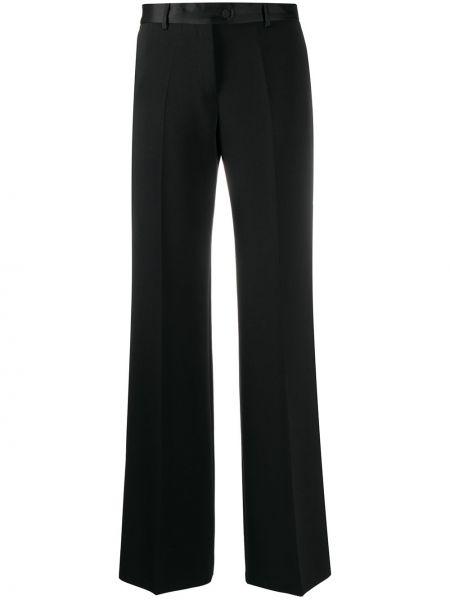 Черные с завышенной талией брюки свободного кроя Paul Smith