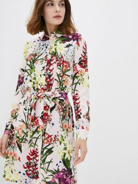 Платье розовое платье-рубашка Incity