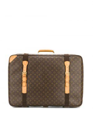 Коричневый чемодан Louis Vuitton Pre-owned