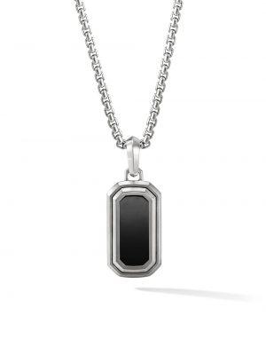 Серебряное ожерелье с подвесками David Yurman