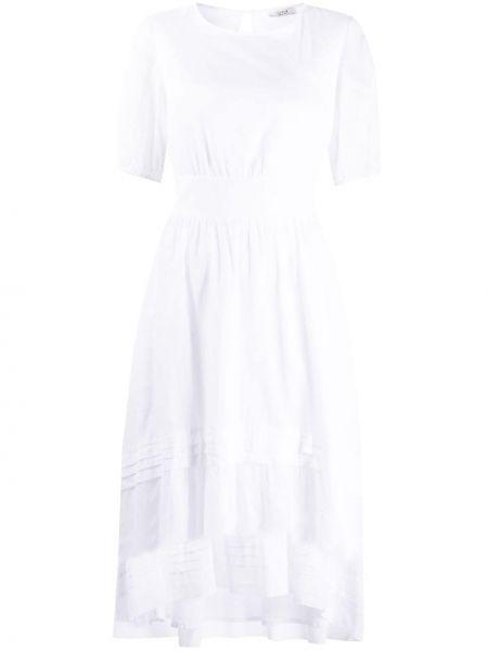 Платье мини короткое - белое Peserico