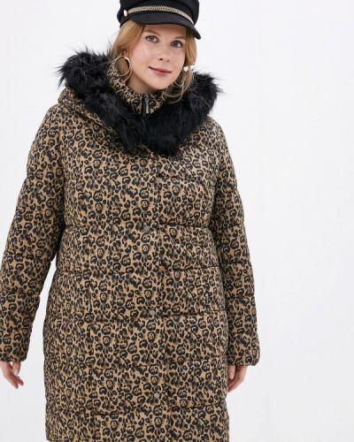 Коричневая куртка Ulla Popken