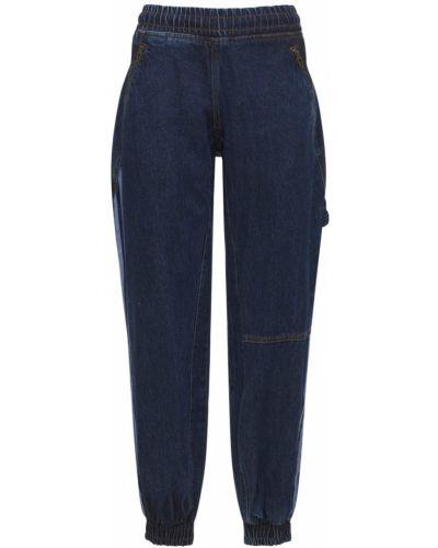 Синие брюки с завязками Adidas X Ivy Park