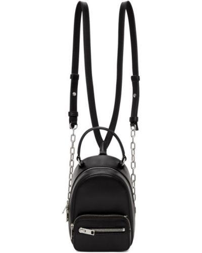 Кожаный рюкзак на молнии на шнуровке Alexander Wang