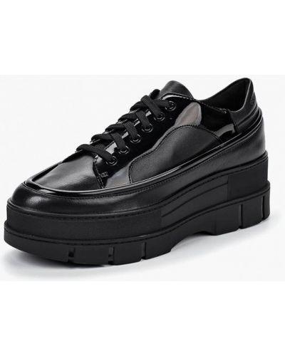 Кожаные ботинки осенние низкие Geox