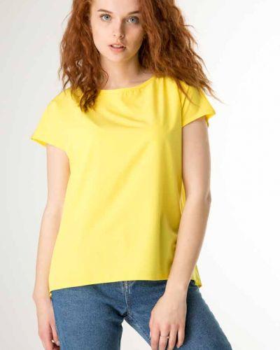 Блузка короткая - желтая Innoe