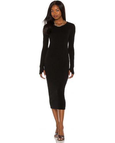 Вечернее платье длинное - черное Enza Costa