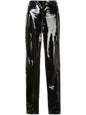 Лаковые брюки - черные Karl Lagerfeld