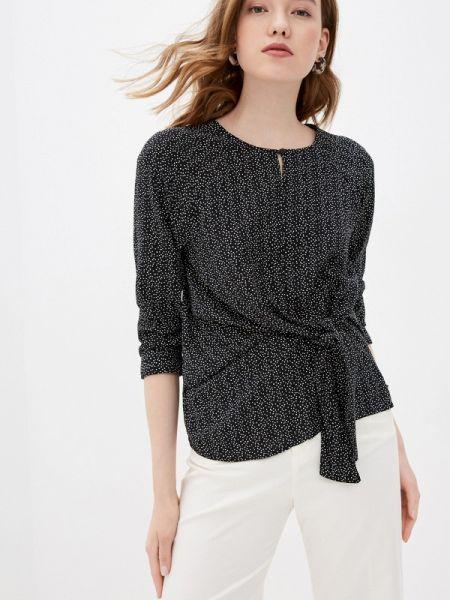 Черная блузка с длинным рукавом Zabaione