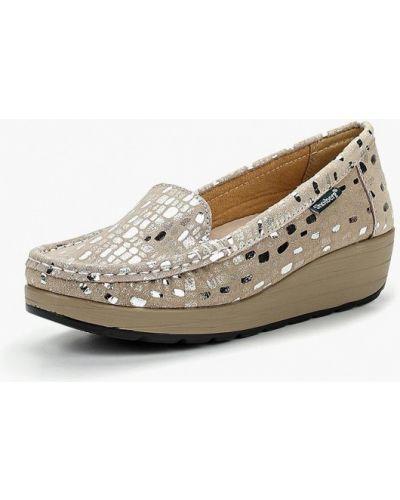 Туфли на каблуке замшевые резиновые Shoiberg
