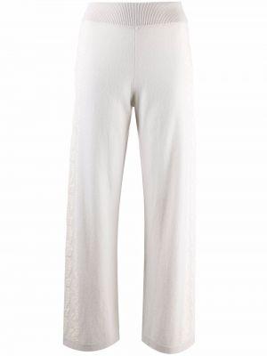 Białe spodnie bawełniane Barrie