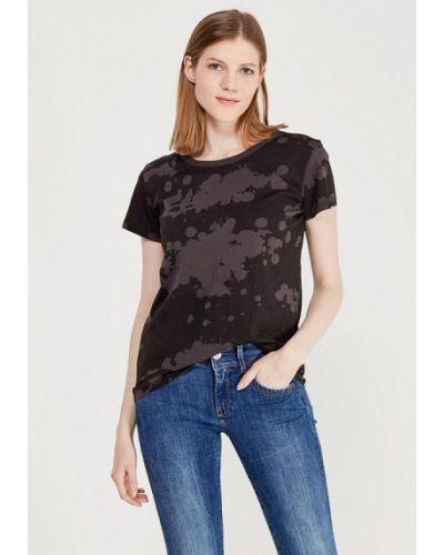Черная футболка G-star