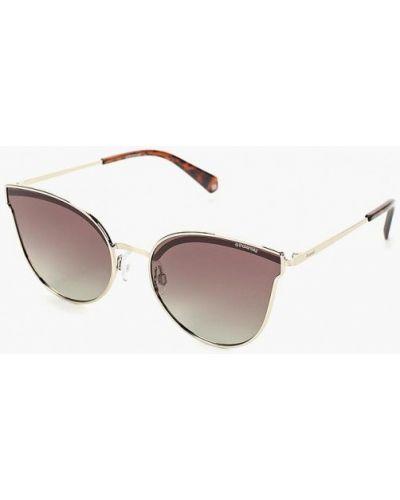 Солнцезащитные очки кошачий глаз серебряный Polaroid
