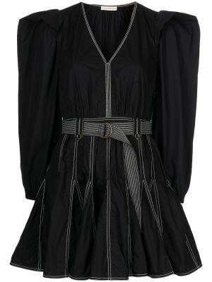 Хлопковое платье мини - черное Ulla Johnson