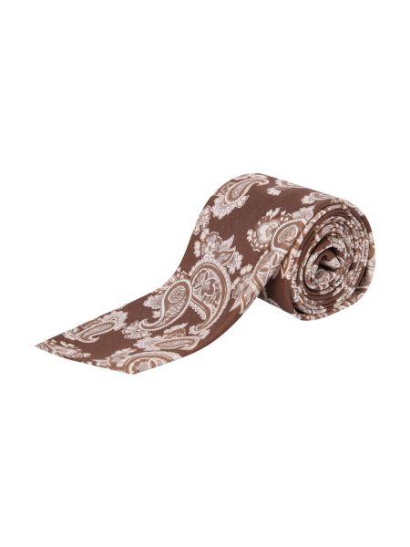 Brązowy krawat Lardini