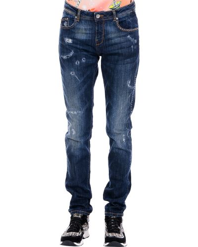 Синие джинсы Twin-set