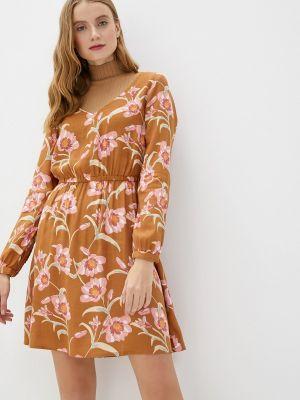 Бежевое платье Roxy
