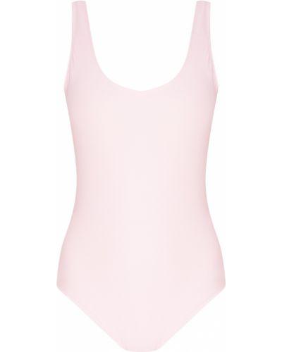 Розовый слитный купальник Artem Krivda