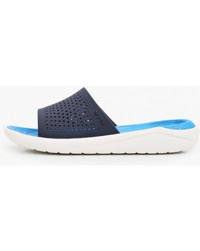 Пляжные сланцы - синие Crocs