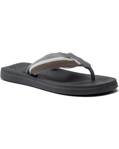 Szare sandały na lato Havaianas