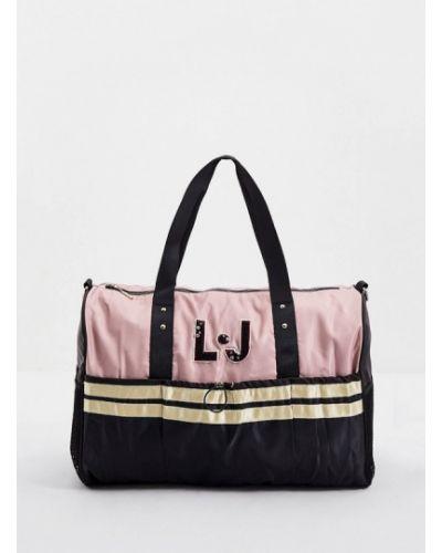 Розовая спортивная спортивная сумка Liu Jo Sport