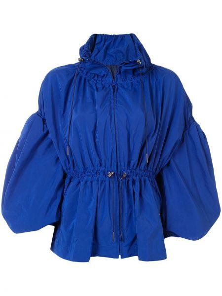 Синяя куртка с капюшоном на молнии Enföld