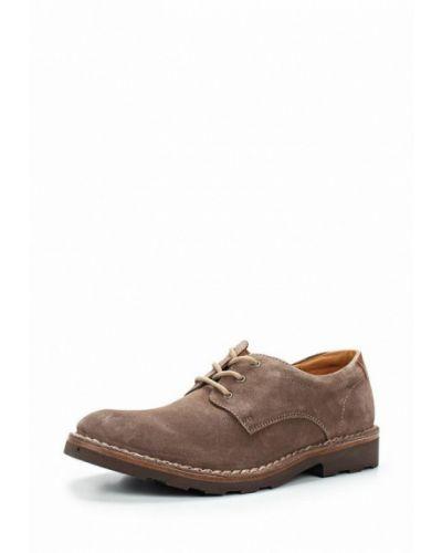 Туфли замшевые коричневый Wojas