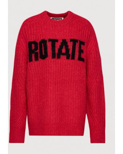 Czerwony sweter oversize Rotate