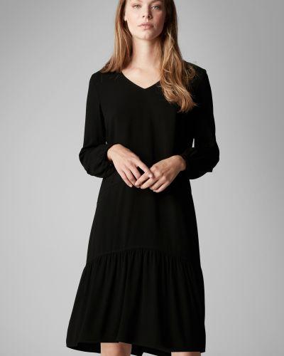 Платье с V-образным вырезом плиссированное Marc O`polo