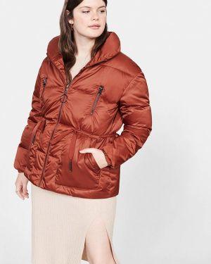 Утепленная куртка демисезонная осенняя Violeta By Mango