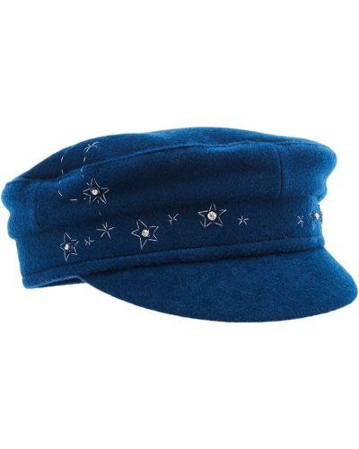 Синяя кепка с вышивкой Ruslan Baginskiy