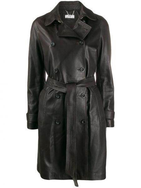 Пальто классическое с поясом с воротником Desa Collection
