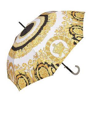 Złoty parasol - biały Versace