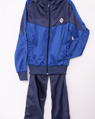 Спортивный костюм трикотажный синий Lacywear