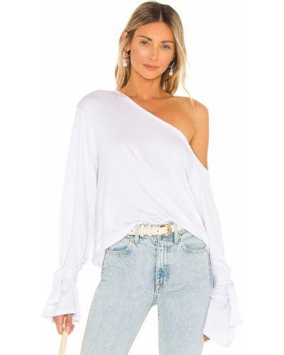 Biała koszulka z haftem Tularosa