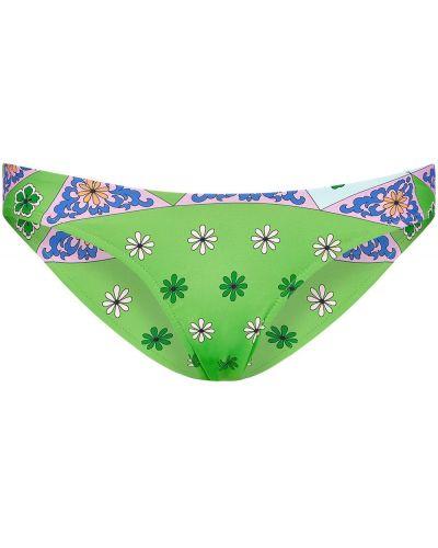 Нейлоновые пляжные плавки бикини эластичные Frankie's Bikinis