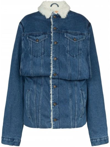 Синяя джинсовая куртка Y/project